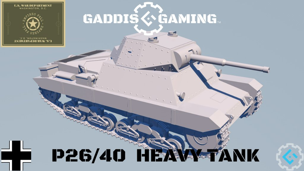 """coming to KS Nov10th EMPIRES FALL a full range of 'WHAT IF"""" Tanks the first being the P40 #EMPIRESFALL #gaddisgaming #finns #ww2 #wargame #tabletopgaming #miniatures #ww2games #ww2wargaming #paintingminiatures #28mm #28mmminiatures #wargameminiaturesfinland #miniaturewargaming https://t.co/MJhAx2M3iF"""