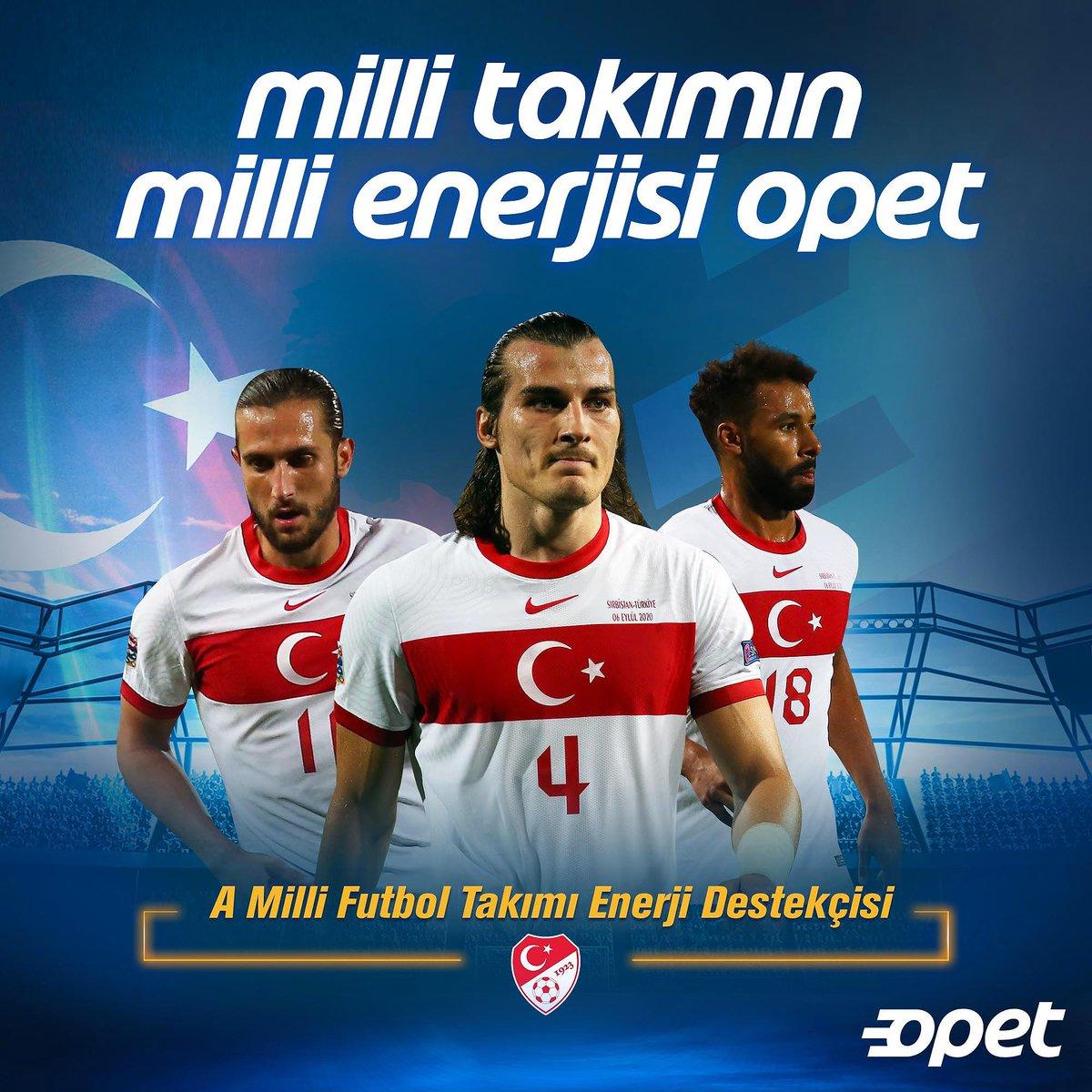 Uluslar Ligi 3. maçında rakibimiz Rusya, Opet bu önemli mücadelede Millilerimizin yanında. Başarılar Milli Takım! @MilliTakimlar https://t.co/nzYnA3sWKl