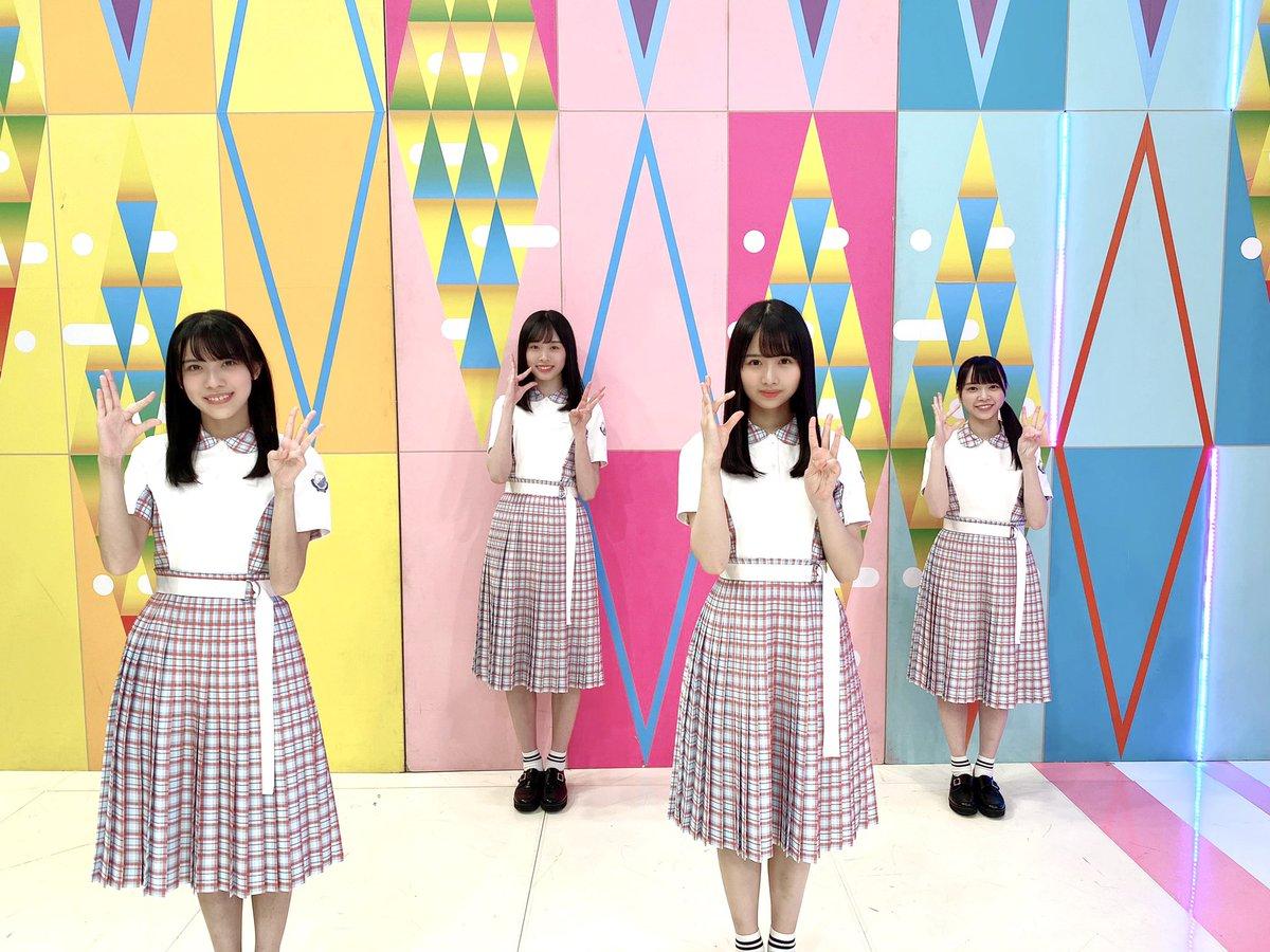この後、25:05〜放送のテレビ東京「日向坂で会いましょう」で三期生ユニット「#この夏をジャムにしよう」が初披露されます   ぜひご覧ください☀️  #ひなあい #ひなましょう #日向坂46 tv-tokyo.co.jp/hinatazaka/