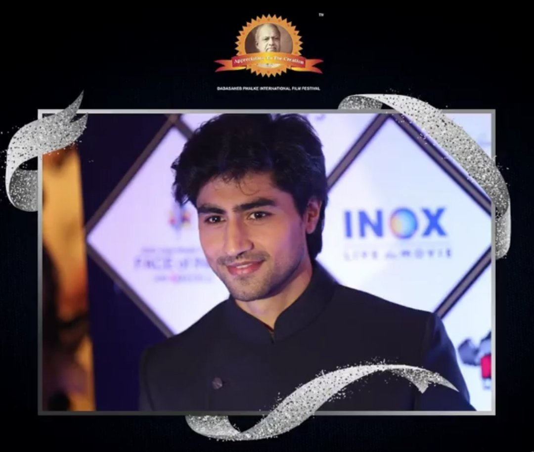 Mr Handsome and most deserving winner of Dada Saheb Phalke International Film Festival 2020 #HarshadChopda ....Thank u #Dpiff for posting it #Dpiff2021 https://t.co/1N082jGtSn