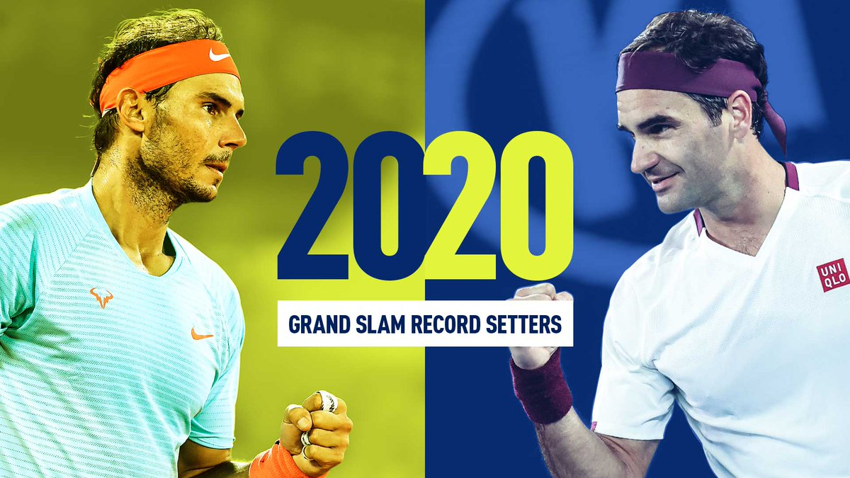 2️⃣0️⃣-2️⃣0️⃣ in 2️⃣0️⃣2️⃣0️⃣  @RafaelNadal ties @rogerfederer's all-time record for the most Grand Slam men's singles titles! 🏆  #RolandGarros https://t.co/tSLMBOtGL4