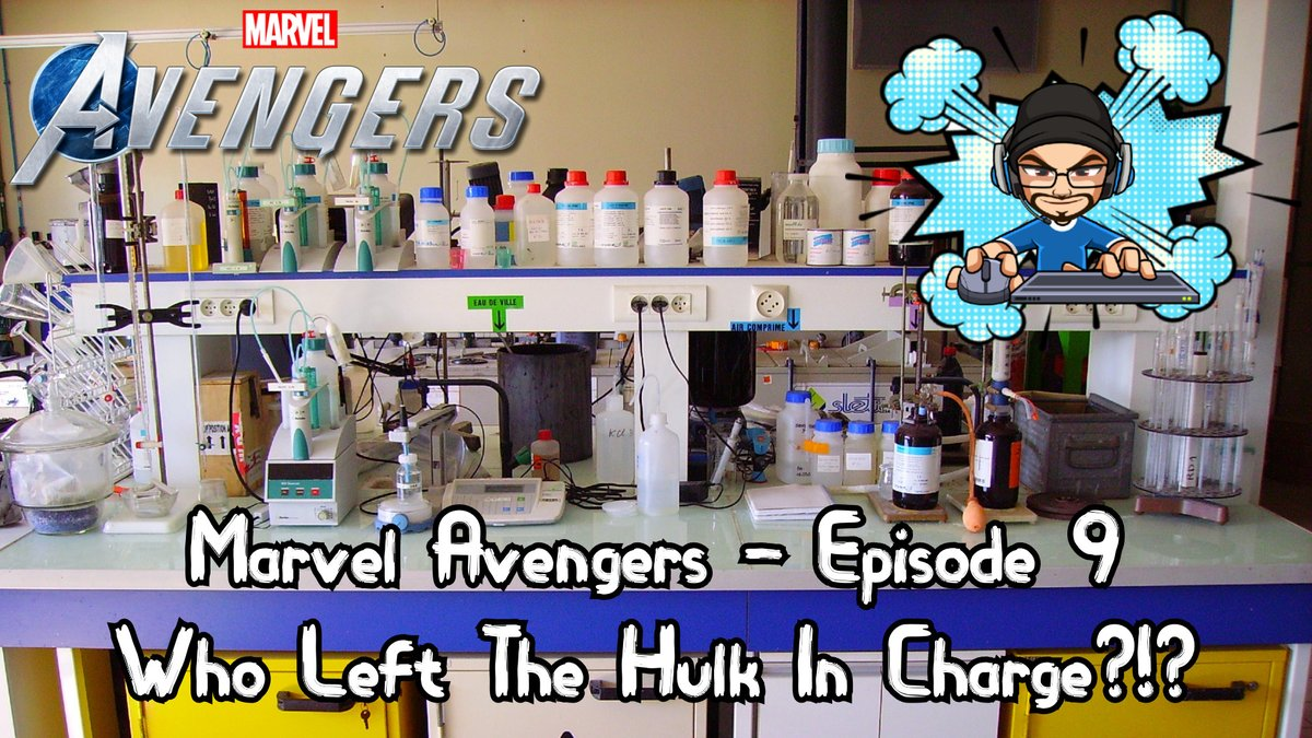 WHO LEFT THE HULK IN CHARGE?!? - Marvel Avengers - Episode 9 is live!!! Hulk Smash? Hulk Smash. HULK SMASH! https://t.co/XNGsKwNgGV #gaming #youtube #marvelavengers #hulk #smash #joe #coffee #letsplay https://t.co/bNcbWfDCPU