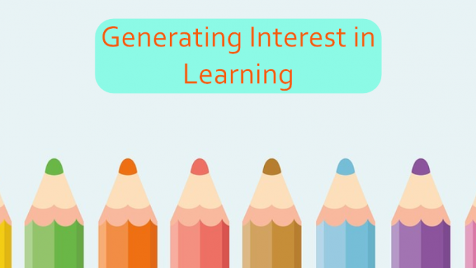 Generating Interest in Learning by @SenecaLearn ukedchat.com/2017/11/27/gen… #UKEdChat