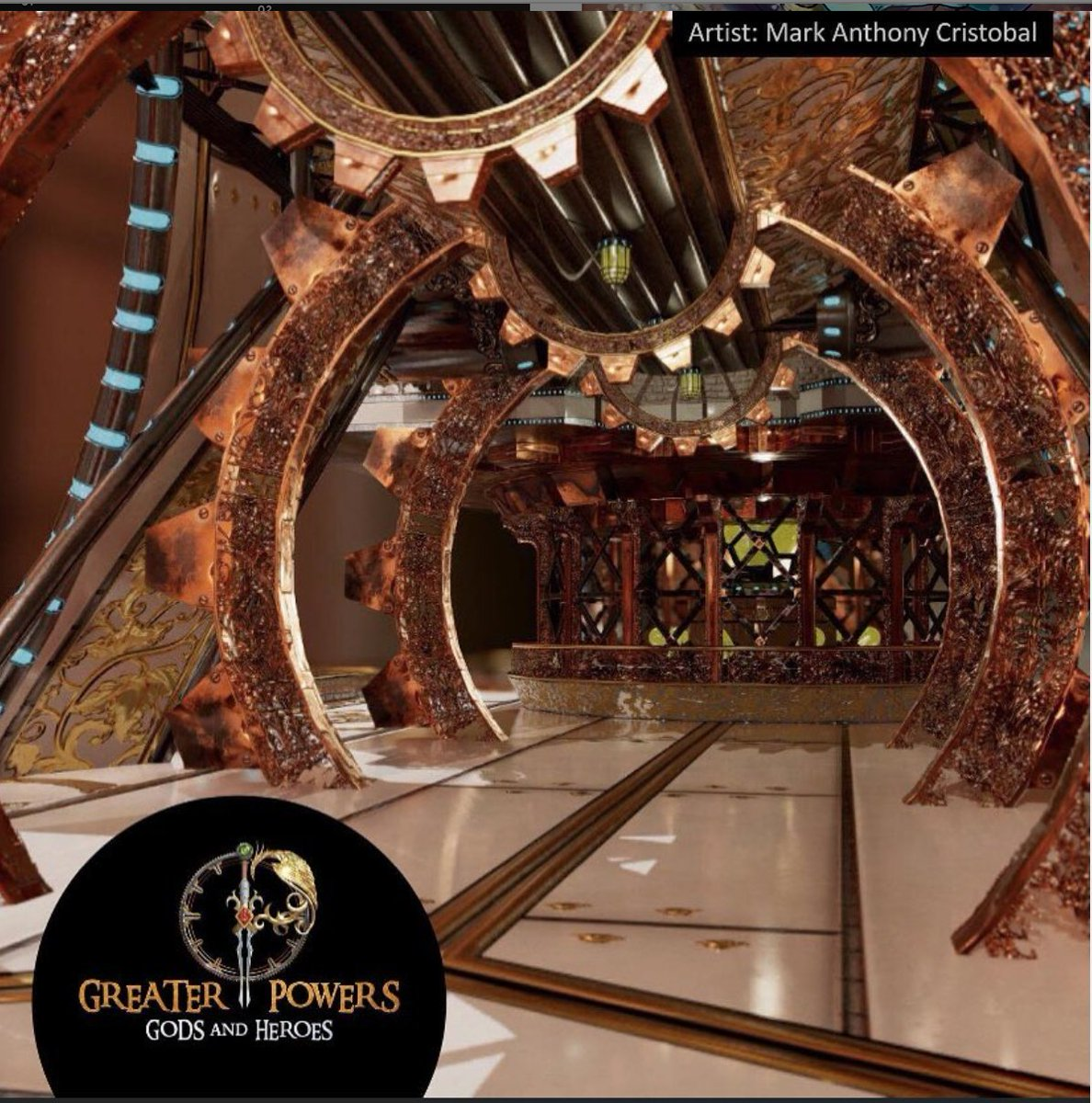 #Geek 🧐 Awesome of the Day: Cartographer's Guild in #Steampunk ⚙️ #Fantasy #Indiegame #Videogame #GreaterPowers By @GreaterPowers_ #SamaGames 🎮 #SamaGeek 🤓