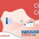 Image for the Tweet beginning: The #EURegionsWeek kicked off with