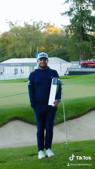 Replying to @EuropeanTour: Dreams come true @TyrrellHatton.  #ImJustAKid  #BMWPGA #RolexSeries