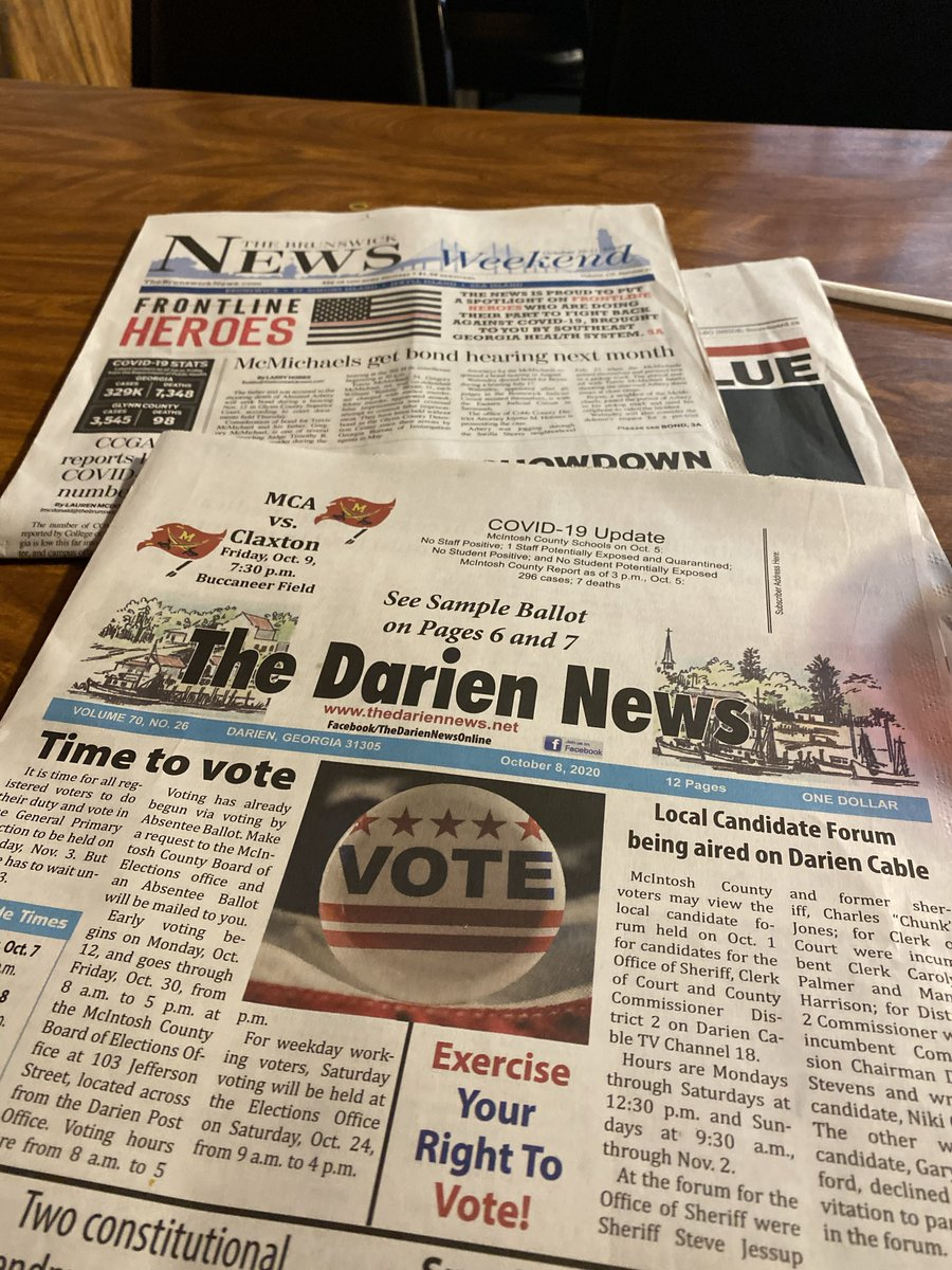 Y'all know how I do. 📰 #supportlocalnewspapers #NationalNewspaperWeek https://t.co/EBDRI39OPa