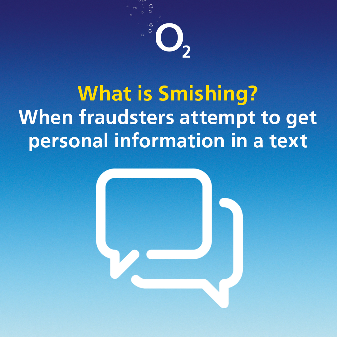 Look out for texts advising there is a problem with your account or payments.   ​  If you've received a suspicious text from a standard mobile number rather than O2, please forward it immediately to 7726 and avoid interacting with it. https://t.co/ZpiU4ZsXY7