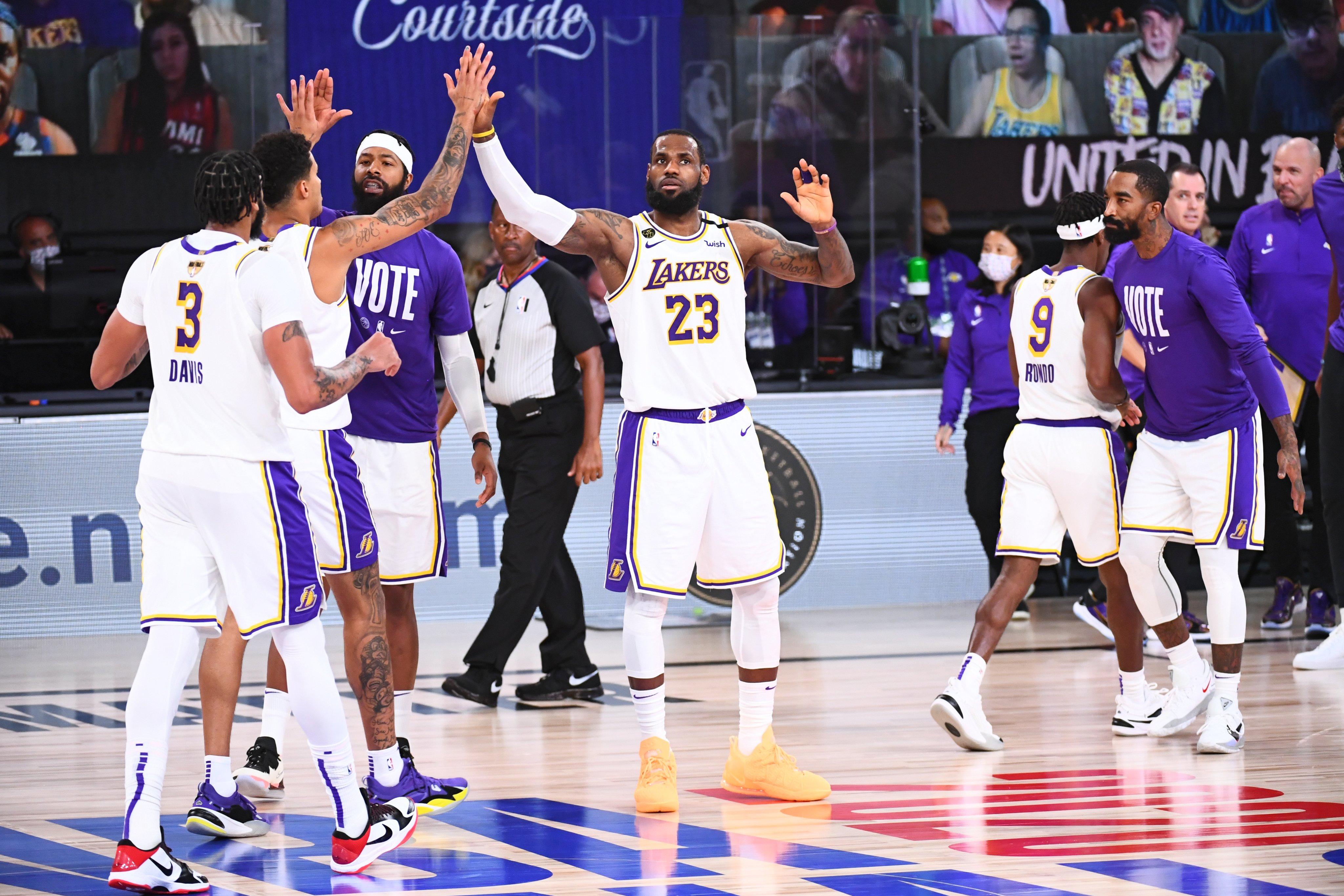 NBAFinals – I Los Angeles Lakers tornano dopo 10 anni campioni NBA!!! I Miami Heat cedono in gara-6