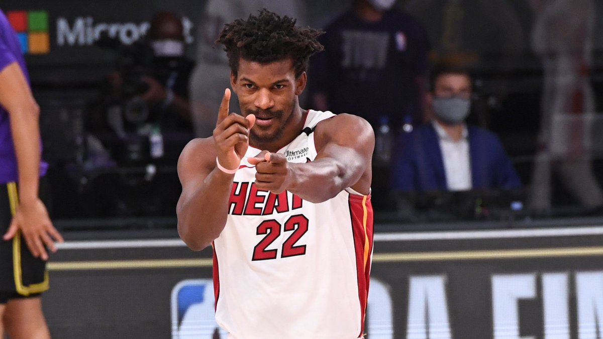 Jimmy Butler has been on another level during these #NBAFinals   29 PPG 55.8 FG% 8.6 RPG 10.2 APG 2.6 SPG 61.6 FPPG  Watch Game 6 tonight at 7:30 PM ET on ABC! https://t.co/mmixPmaSOv