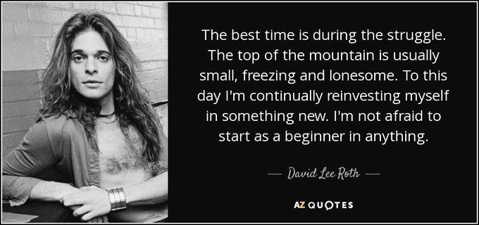 Happy 66th Birthday to David Lee Roth, who was born on Oct. 10, 1954 in Bloomington, Indiana.