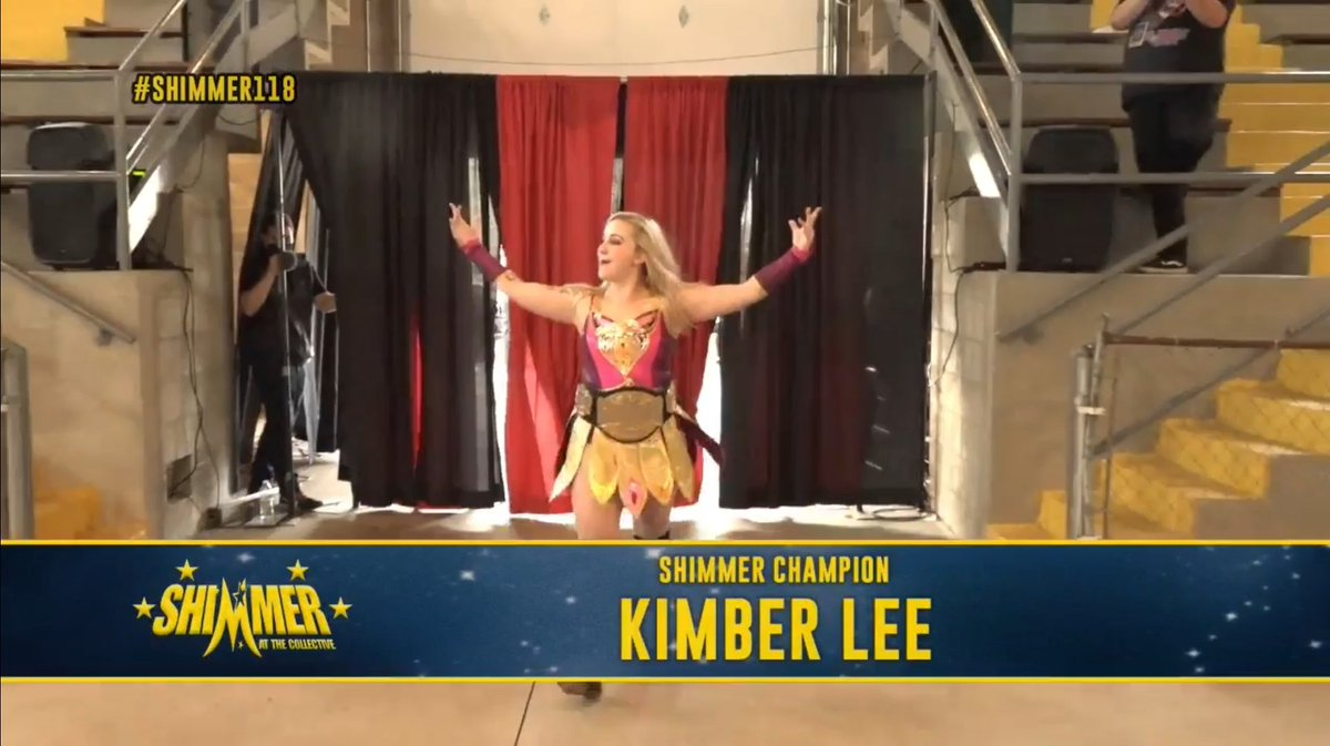 SHIMMER 118 Results: SHIMMER Champion Kimber Lee Vs. Nicole Savoy