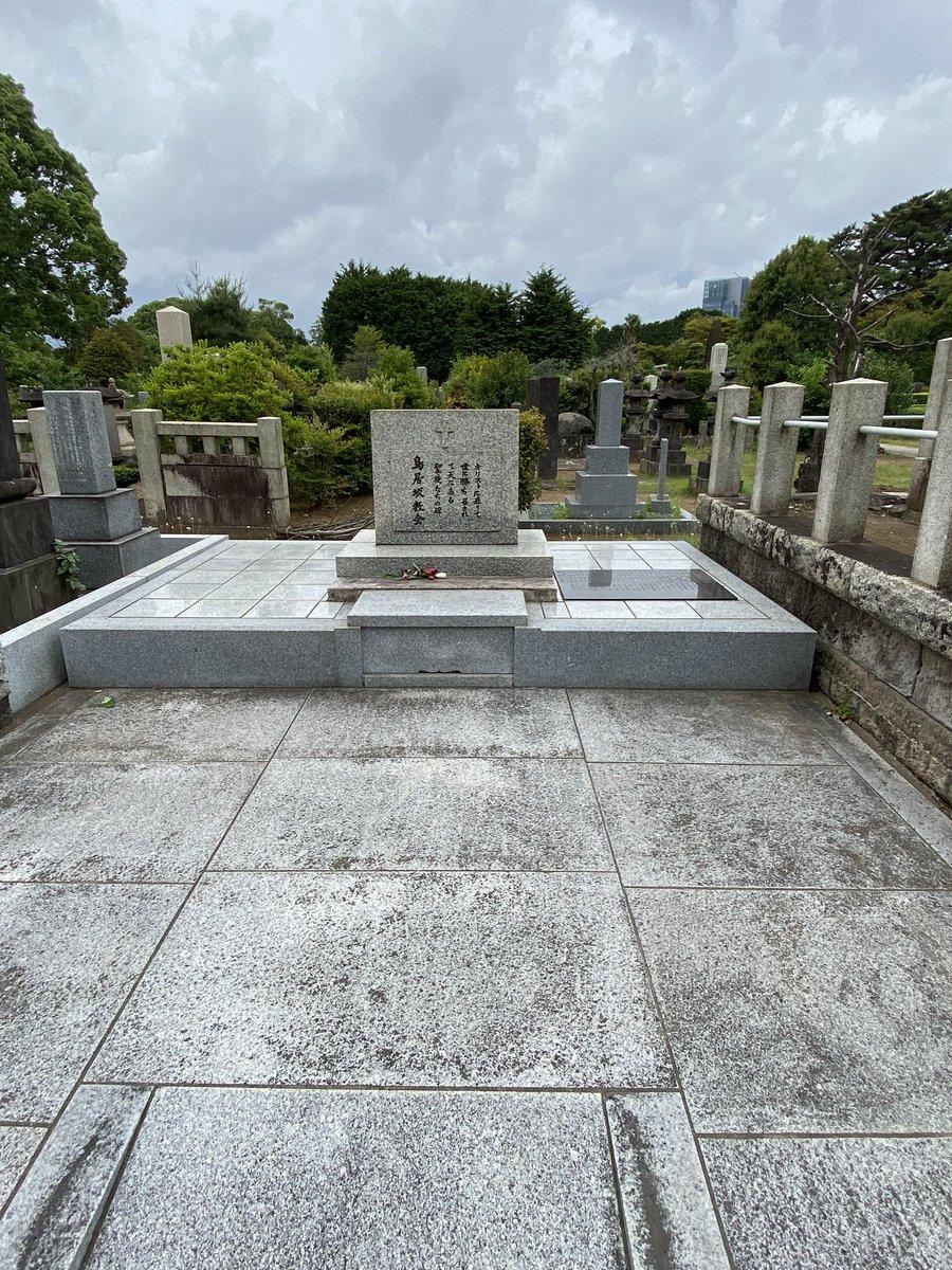 そしてお墓は青山霊園に。現在の十番稲荷社の辺りにあった鳥居坂教会・永坂孤女院(永坂ホーム)の集合墓で他の女の子たちと一緒に永遠の眠りについています。亡くなったとき9歳でした。