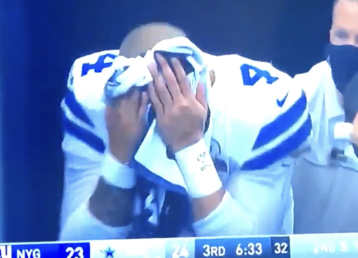 Dak has been through so much this year... and now this. Unbelievable.  All of Eagles Nation's thoughts and prayers are with you, @Dak. Get back soon. 🙏🏼