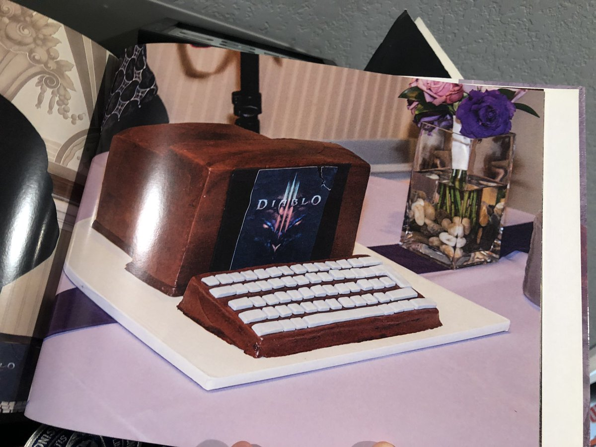 Found a rare pic of my grooms cake from 2012. I've always lived this nerd life lol.