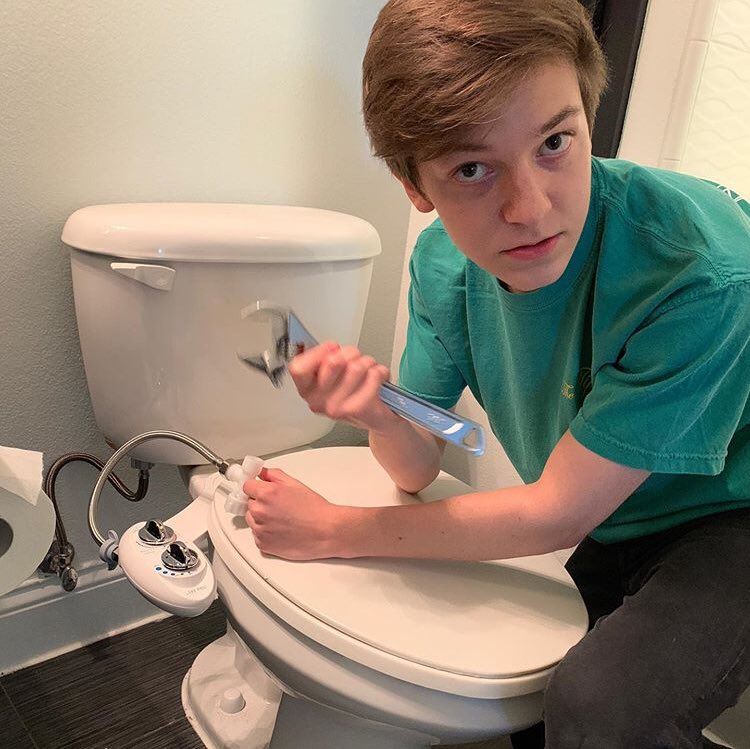 would you let him repair your potty?