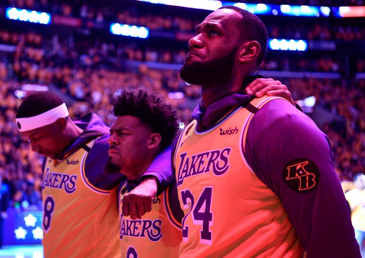 How it started:              How it ended: @LakersVintage @GlobalLakerFans @lakurnashun @AdamIsKing38 @realjohnzedrick @Miss_Cass_87 @TylerVillagra24 #LakeShow #LakerNation #NBA #NBAFinals #NBAFINALS2020 #MambaForever #MambaMentality #MambaDay https://t.co/SlinesZAaJ