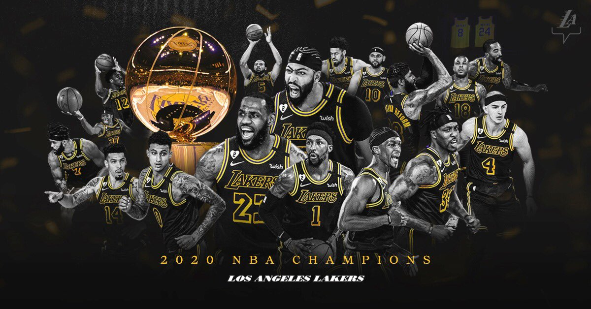 This one is for you brother, for you Gianna, for Vanessa, for Natalia, for Bianka and for Capri. 🐍🖤  Congratulations to the entire @Lakers team, @JeanieBuss and the Lakers family for winning the 17th championship!! 👏👏👏👏 https://t.co/glYG421whq