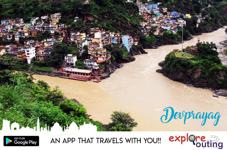 #Devprayag: This is the place where the holy rivers Bhagirathi and Alaknanda meet, making it a unique #pilgrimage like the Prayag of Allahabad. https://t.co/CfLfaVL9Gu #ExploreIndia #ExploreOuting #Travel #IndiaTravel https://t.co/XLdl6Csbpp