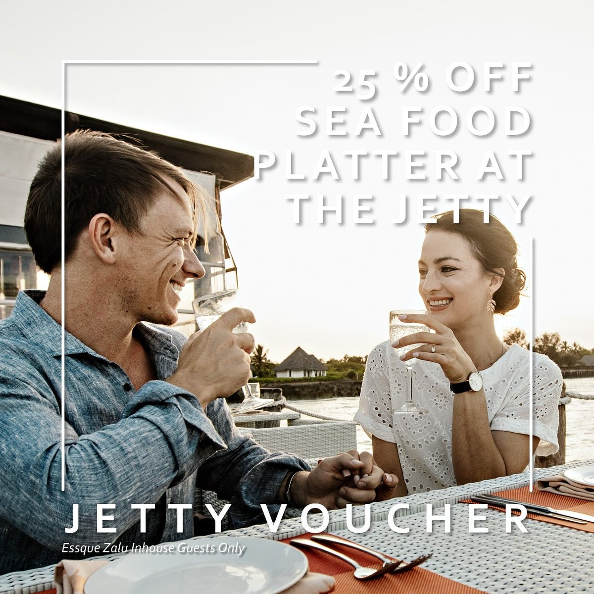 More reason to stay over as you get 25% off our AMAZING Seafood Platter on The Jetty.                                           #essquezaluzanzibar #lunchtimeprom #bestholiday #thejetty #holiday #visitzanzibar #foodies #myzanzibar #islandholiday #luxuryholiday #worldtravel https://t.co/MdYDygIsaC