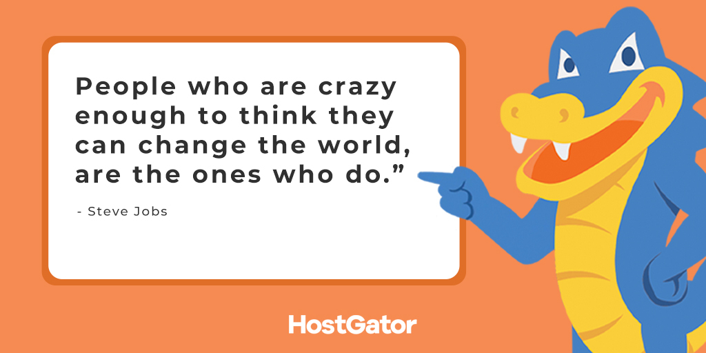 No matter how crazy your #dream is, keep pursuing it and someday you will change the world!  #MondayMotivation https://t.co/XLqCsG4DMK
