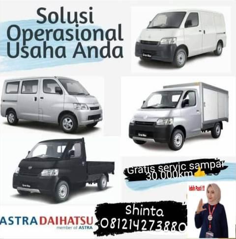 Mobil Daihatsu untuk operasional usaha