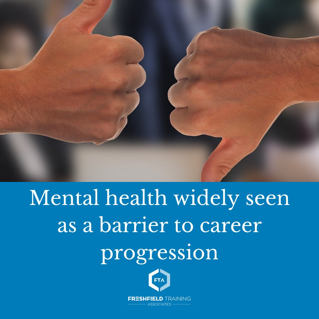 New research from recruitment agency Hays claims that nearly a quarter (24%) of those who have or have experienced mental health condition feel they do not have equal access to the same career progression opportunities as other colleagues.   Read more: https://t.co/whXUp2Knyn https://t.co/SRkMkWReH0