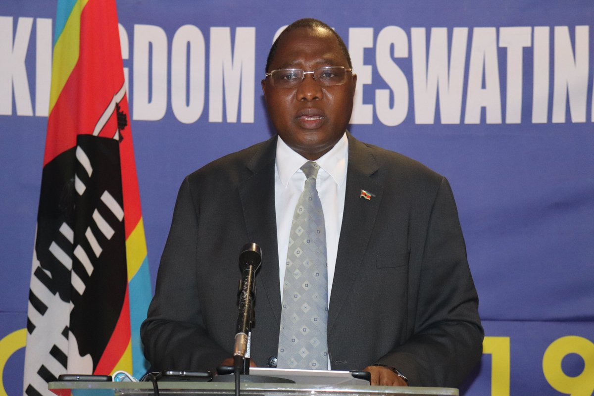 """Eswatini Government on Twitter: """"Prime Minister Ambrose Dlamini has announced the lifting of the ban on the sale & distribution of liquor with effect from 26 October 2020. """"Distributors, wholesalers & retailers"""