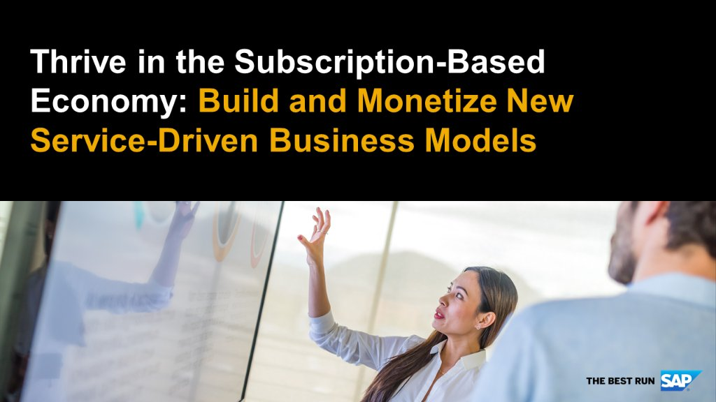 How do the tough get growing? By quickly adjusting their business models -  Everything-As-a-Servce for example  #SAPBRIM #EAAS @SAPhightech #growth @SAP_CX #disruption #DigitalMarketing #DigitalTransformation