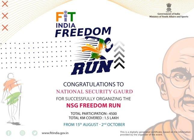 #fitindiafreedomrun