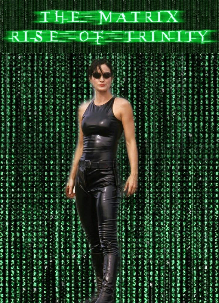 I've made #TheMatrix fan art which could actually make a good fan fiction story 😊 #CarrieAnneMoss #Trinity #TrinityMatrix #MatrixTrinity #TheMatrixfanart #MatrixFanart #fanart @lilly_wachowski #LanaWachowski https://t.co/TUBTWH0It3