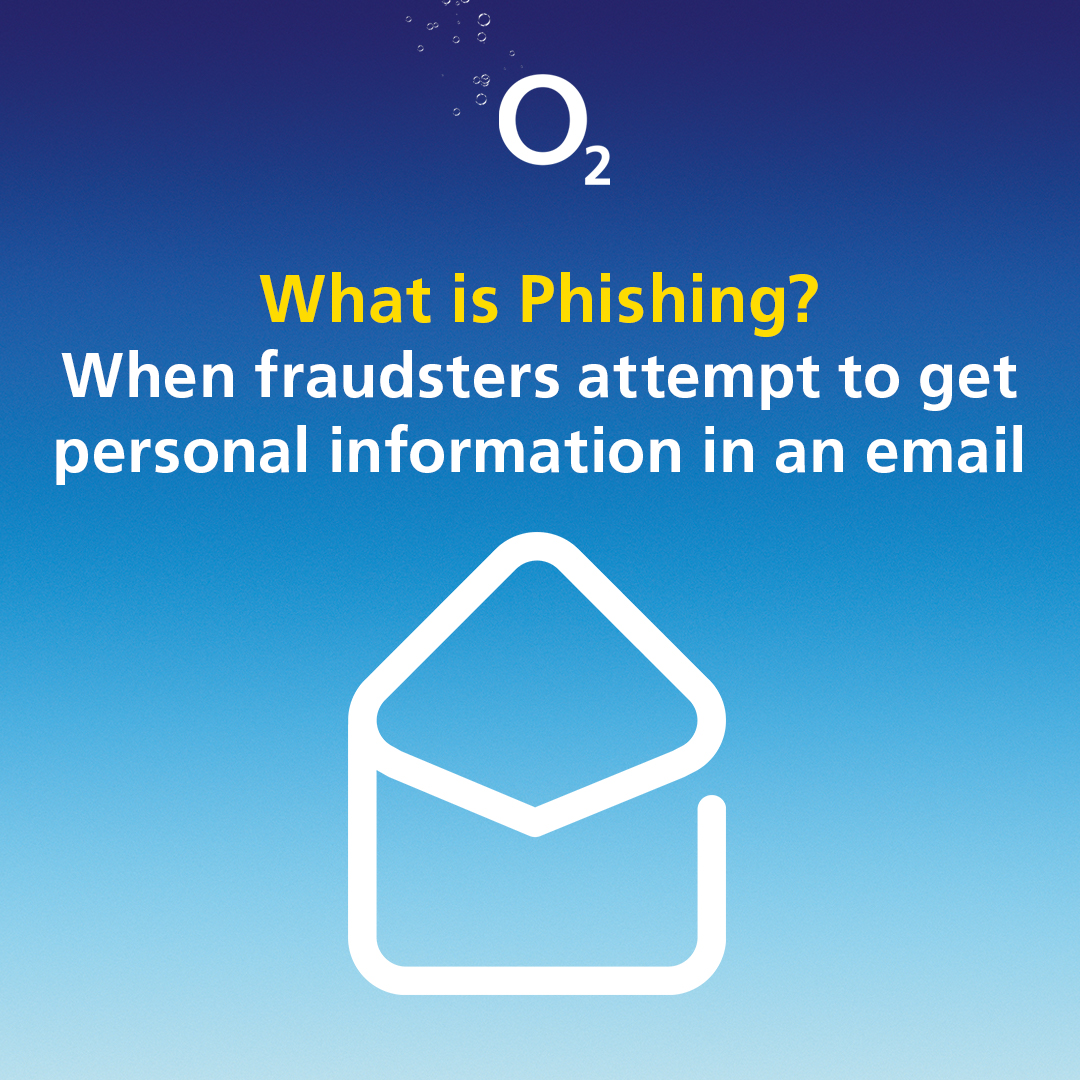 Look out for emails from a non-O2 email address or an O2 email address with spelling mistakes. ​  If you receive a suspicious email, please avoid interacting with it and forward it immediately to SPAM@o2.com. https://t.co/6Gz8Psp3AU