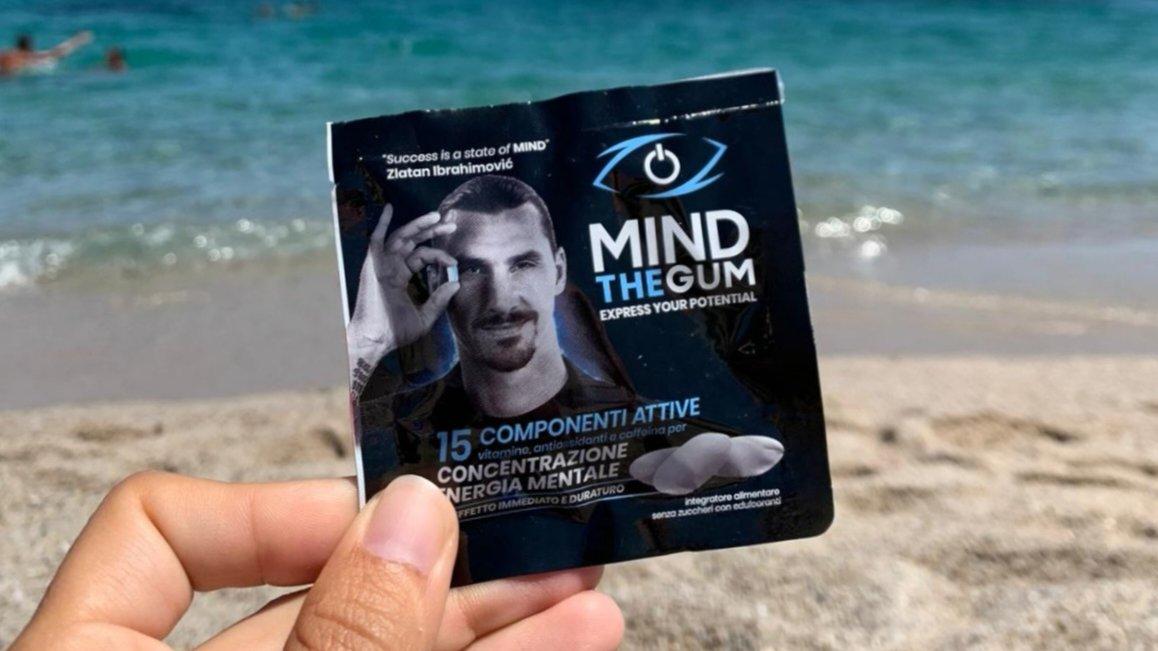 Concentration and mental energy wherever and whenever you want!🧠 ➡️mindthegum.com