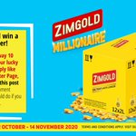 Image for the Tweet beginning: The Millionaire promotion is on!