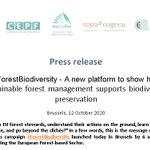 Image for the Tweet beginning: 📢 #ForestBiodiversity is a joint