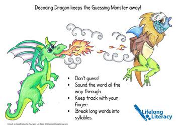 Thanks, Lyn Stone! Decoding Dragon chases away Guessing Monster!