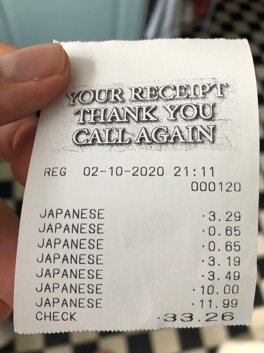 Big up my Japanese supermarket for really knowing their inventory