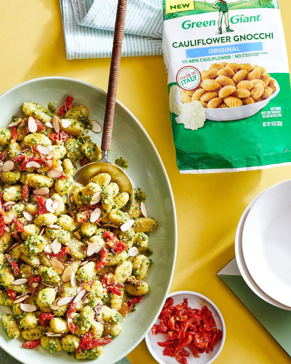 This isn't your normal gnocchi. Pick up our Cauliflower Gnocchi and click the link for a recipe that hits the spot. Shout out to @Allrecipes for this delicious dish!