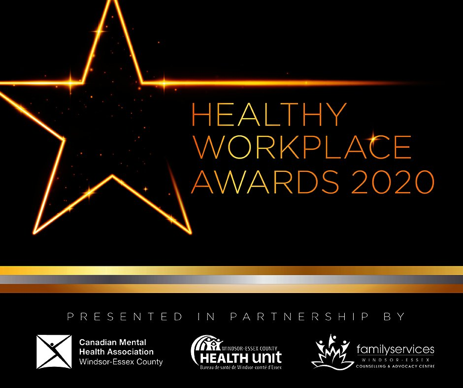test Twitter Media - October is #HealthyWorkplaceMonth. @TheWECHU @CMHAWECB @FamServWE & the WTW Committee's #HealthyWorkplaceAwards2020 recognizes businesses/workplaces for their commitment to employees & the #WindsorEssex community during the pandemic. Learn more here: https://t.co/hJjispjLru https://t.co/QlbtnNF9gm