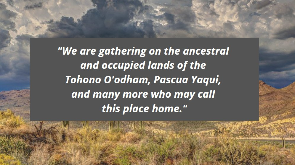We recognize today as #IndigenousPeoplesDay. Join us in taking a moment to acknowledge whose land we live and work on.   Read our full land acknowledgment here: https://t.co/59qvNVHfTp https://t.co/WqGrEyIp56