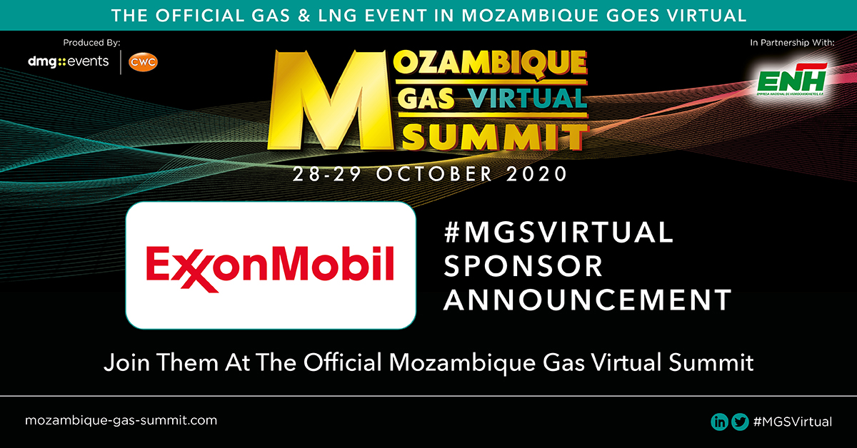 The #MGSVirtual in partnership with Empresa Nacional de Hidrocarbonetos EP (#ENH) is proud to announce ExxonMobil as a #sponsor. For information visit: https://t.co/d5L1BJvIsH  #AfricaEnergySeries #WorldLNGSeries #exxonmobil https://t.co/yFRwrAi7dd