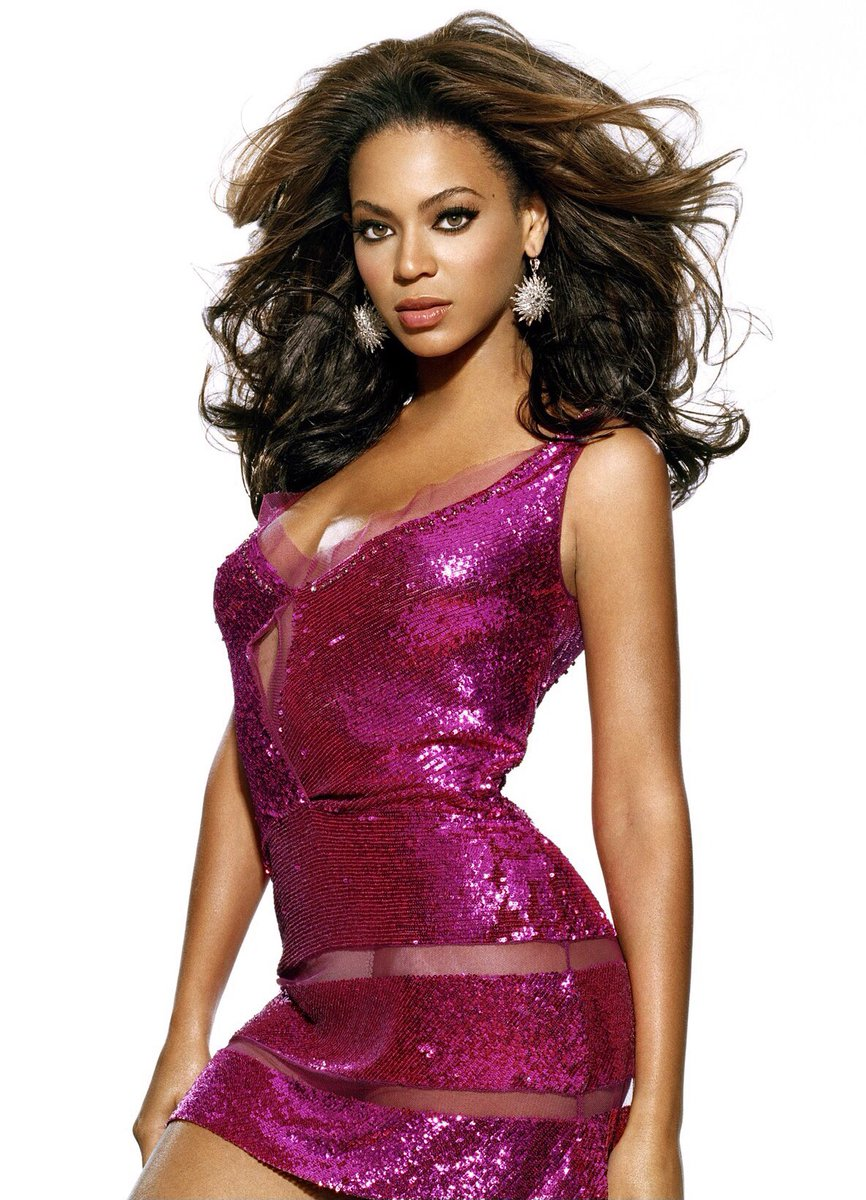 Beyoncé photographed by George Holz for SPIN Magazine (July 2006)