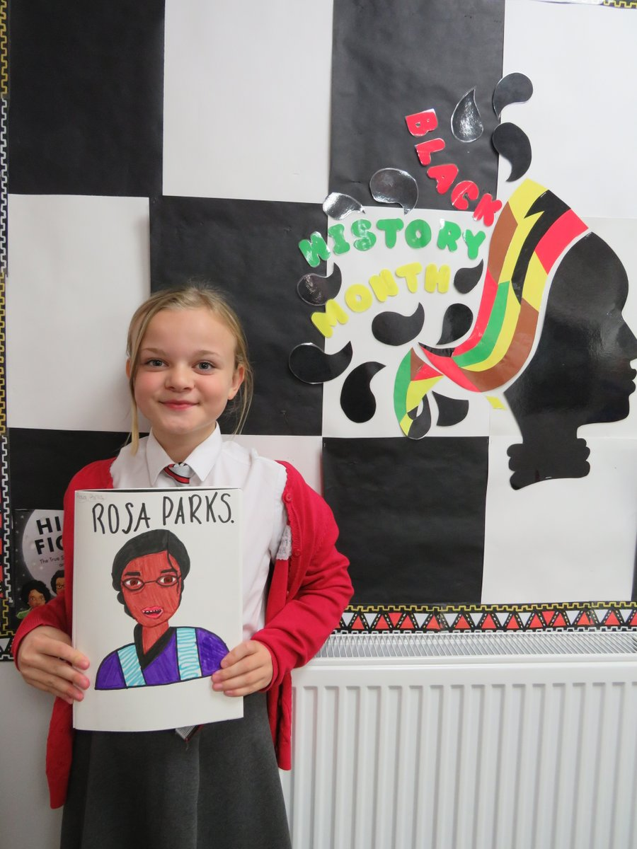Black History Month! We absolutely love these portraits of Rosa Parks and Harriet Tubman... Our Willow class have been busy creating artwork to support their learning about #BlackLivesMatter!  #BlackHistoryMonth #BlackHistoryMonth2020 #RosaParks #HarrietTubman
