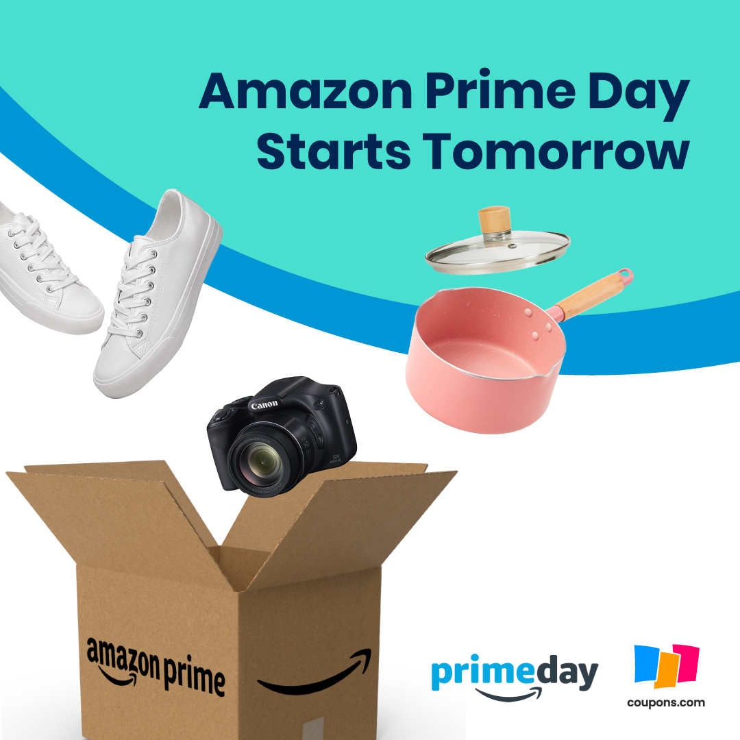 PRIME DAY STARTS TOMORROW!!  Are you ready? What are you hoping to get? https://t.co/w54KRouXy4 https://t.co/ilkmbAL74K