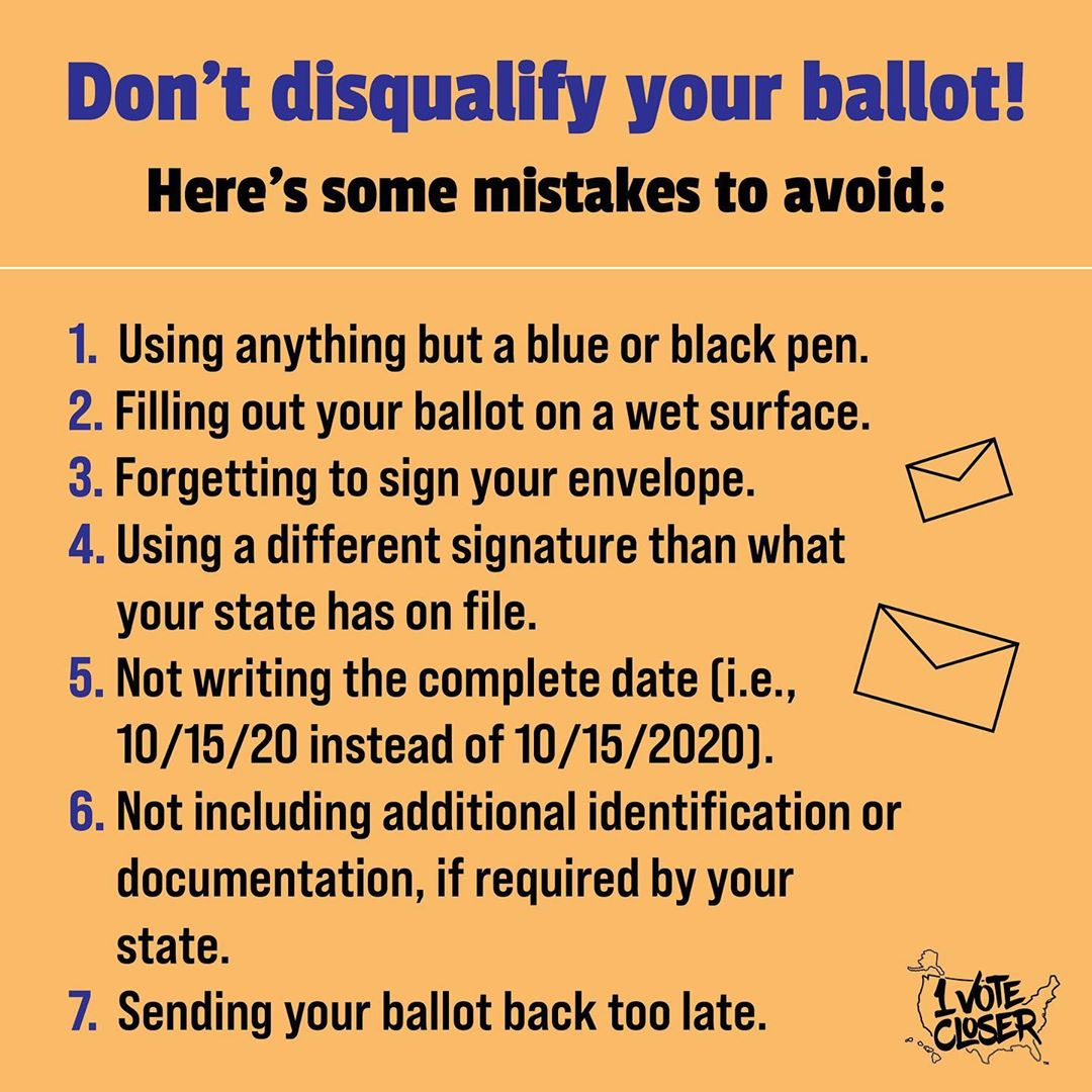 hi, are you voting by mail this year? great. here are some things to keep in mind when doing so.