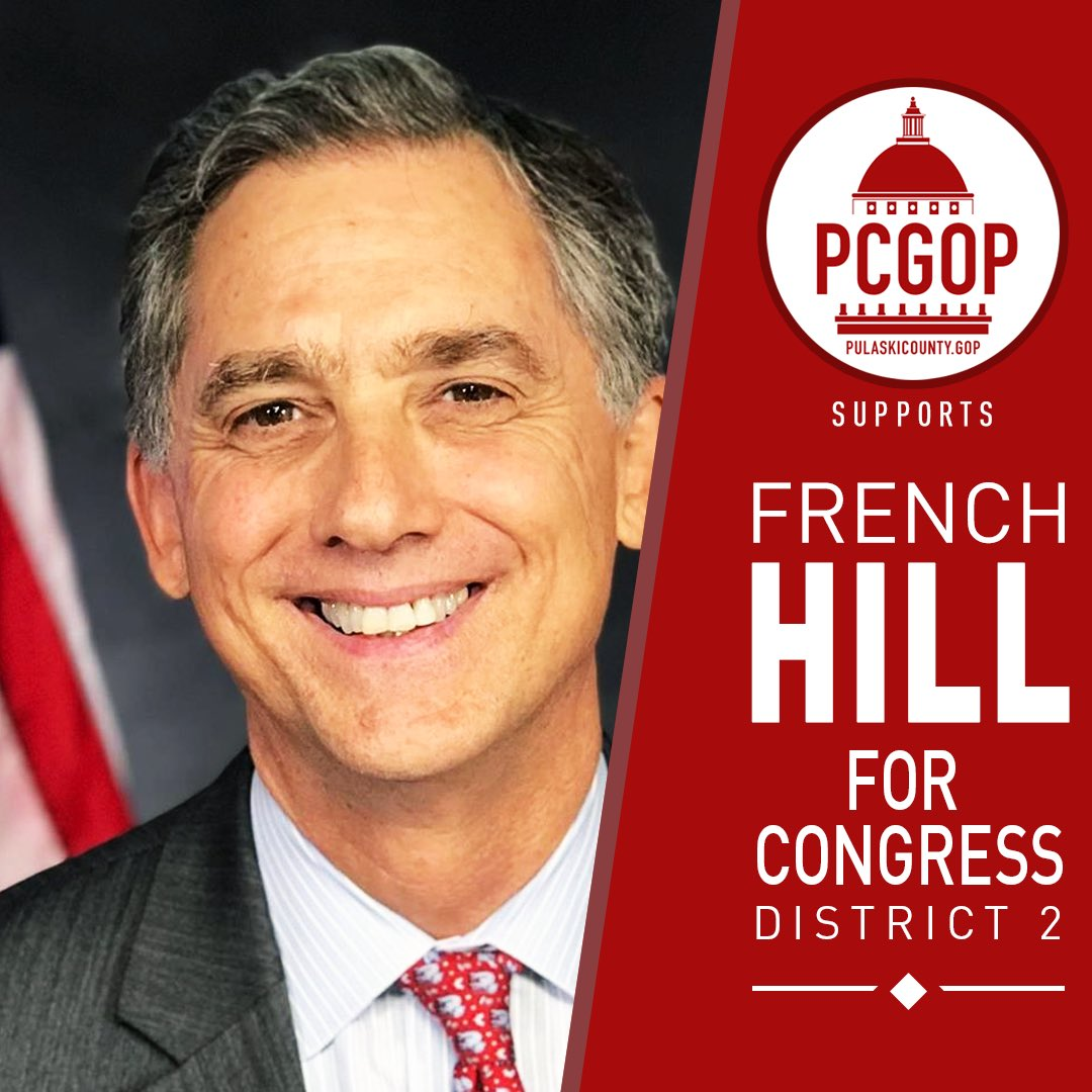 Not even close! @electfrench headed toward a big win!  Keep AR02 Red! Go French Go!