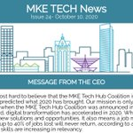 Image for the Tweet beginning: Lots happening in #mketech. Check