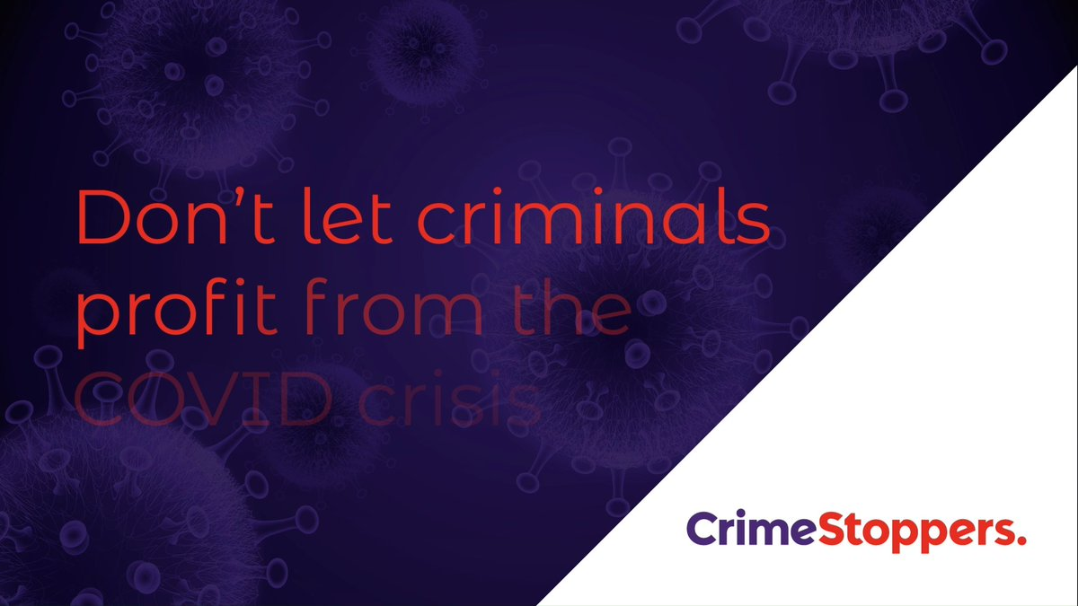 Today we helped increase awareness of a new initiative between government and the independent charity @CrimestoppersUK – offering tips on what the public should look out for and how to prevent themselves from being subject to Covid fraud.