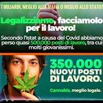Image for the Tweet beginning: @matteosalvinimi Con la #legalizzazione della