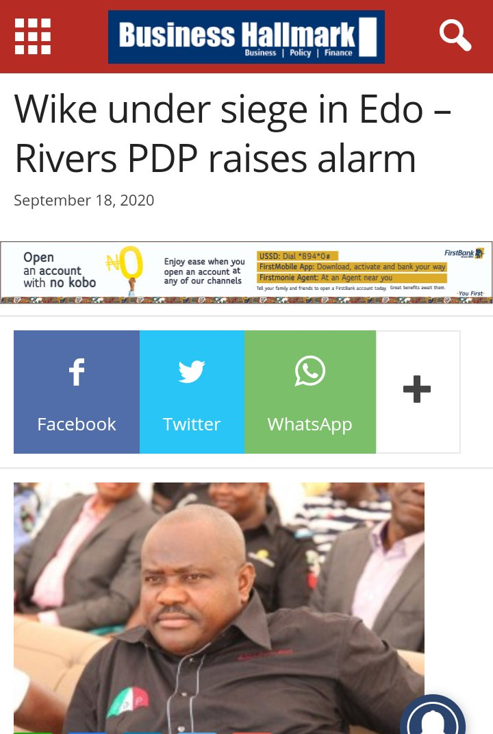 Dear @GovWike, so, you forgot so soon, how you raised alarm on Sept. 18, 2020, when over 300 armed-to-the-teeth policemen attempted to quarantine you to your hotel room, during the last #EdoDecides2020.   #WeThePeople ask for #EndPoliceBrutalityinNigeria, not just #EndSARS. https://t.co/VtIrrWVK6j